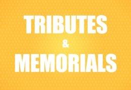 Tributes and Memorials